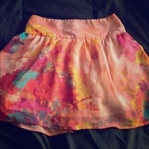 Small floral skirt